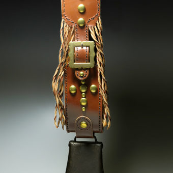 Handmade leather work made by Diane